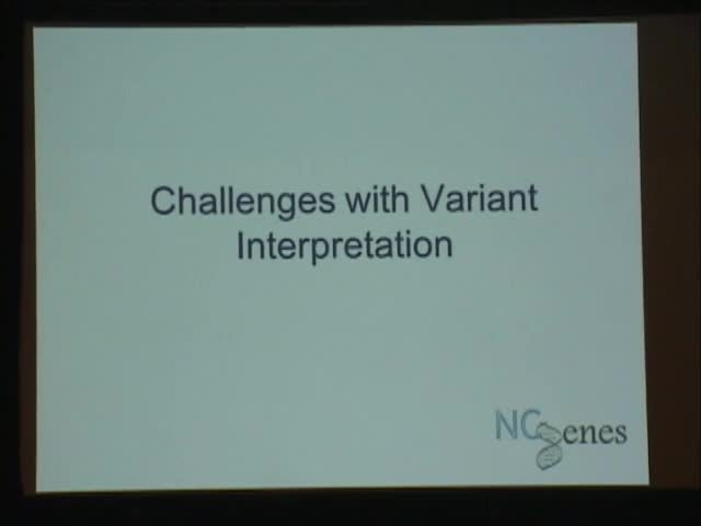 Challenges in Interpretation & Explanation of Exome Sequencing